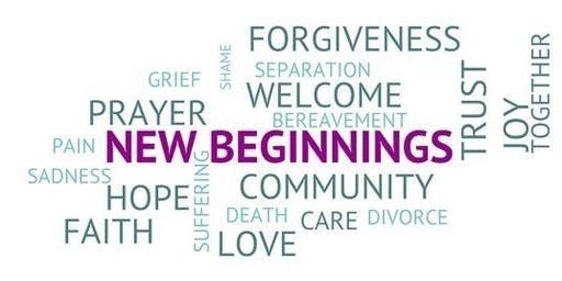 New Beginnings Seminar - Healing and Grace for a Wounded and Grieving Heart