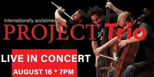PROJECT Trio in Concert