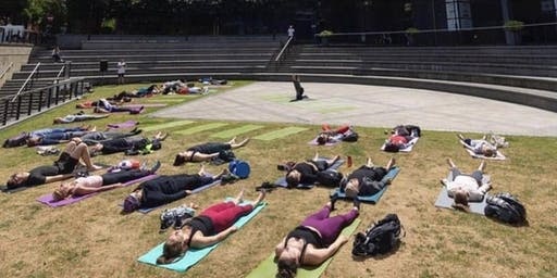 The Life Centre's Yogathon - welcome the Solstice with 108 Sun Salutations