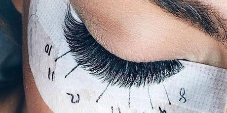 Complete eyelashes technician course tickets