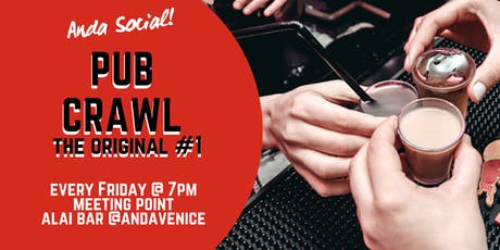 Pub Crawl Experience by Anda Venice tickets