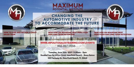 Changing The Automotive Industry To Accommodate The Future! tickets