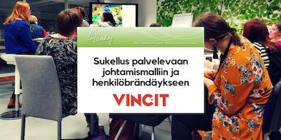 Nice Tuesday Tampere & Vincit: Sukellus palvelevaan johtamismalliin ja henkilöbrändäykseen