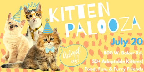 Kitten Palooza tickets
