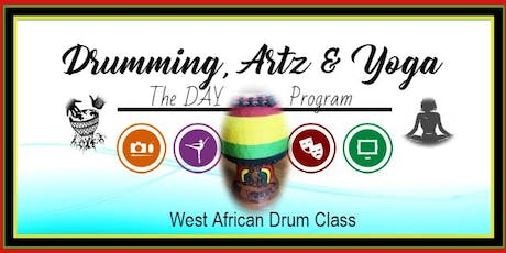 West African Drum Class tickets