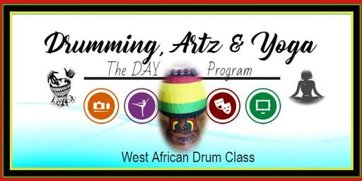 West African Drum Class