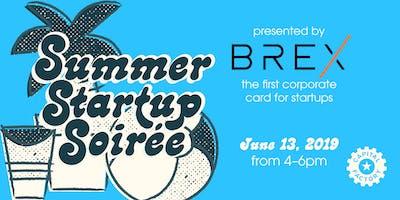 Summer Startup Soirée presented by Brex
