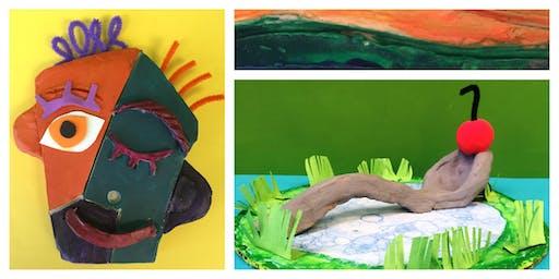 Masters in Clay Homeschool Weekly Class (5-12 Years)