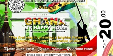 Ghana My Happy Home Musical Concert tickets