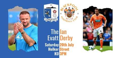 Barrow v Blackpool - HOME Supporters tickets