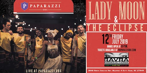 Lady Moon & The Eclipse LIVE at Paparazzi OBX!