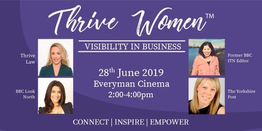 Thrive Women - Visibility In Business