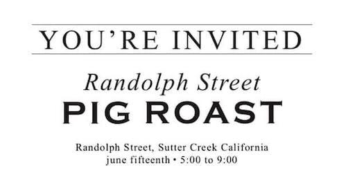 Randolph Street Pig Roast