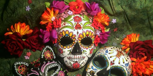 Halloween/Day of the Dead headdress and mask making