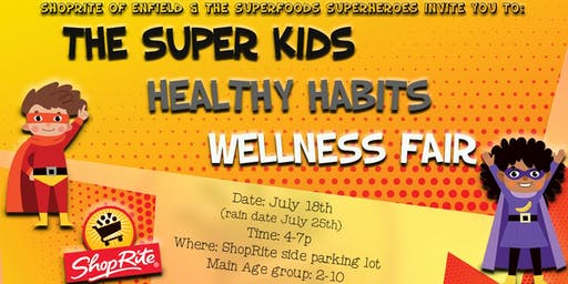 Super Kids Healthy Habits Fair