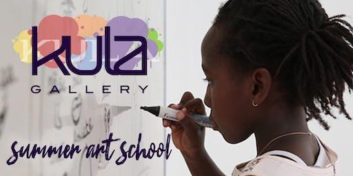 K.U.L.A. Gallery Summer Art School - T-Shirt Design