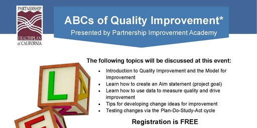 ABC's of Quality Improvement
