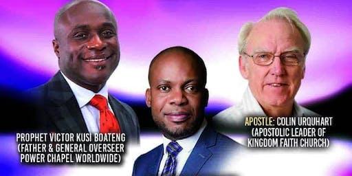 SPEAKING FAITH CONFERENCE: Power Chapel Worldwide London
