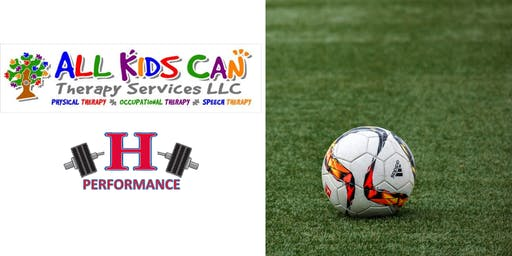 Soccer Sports Performance Camp | 5-8 Year Olds