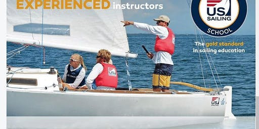 A 2 hour  introductory FUN sailing course on a 21' boat on August 22, 2019