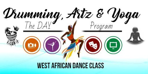 West African Dance Class (Beginners)