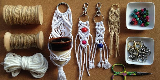 Intro to Macrame - a decorative wall hanging with Jess Kemp