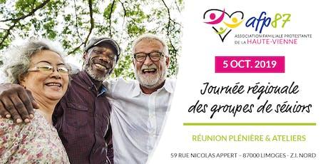 Journée Régionale des groupes de Séniors tickets