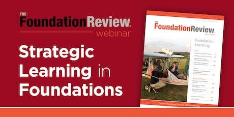Strategic Learning In Foundations (webinar) tickets