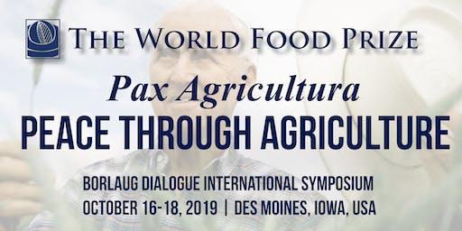 2019 Borlaug Dialogue International Symposium (Oct 16-18)