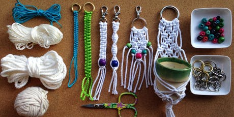 Intro to Macrame - jewellery and accessories with Jess Kemp tickets