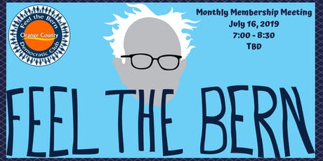 Feel the Bern OC Monthly Membership Meeting tickets