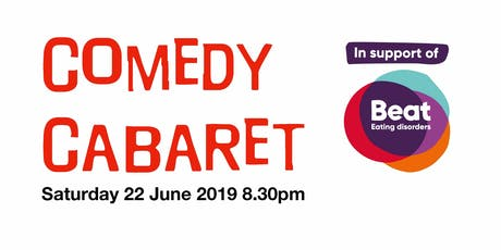 Comedy Cabaret for Beat Eating Disorders tickets