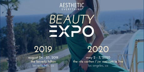 The Aesthetic Everything Beauty Expo - Celebrity/Media Red Carpet Event tickets