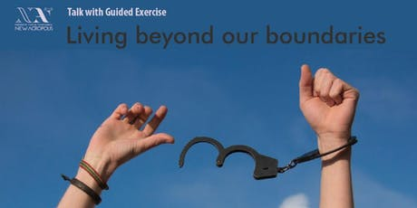 Living beyond our boundaries tickets