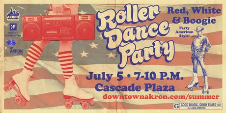 Roller Dance Party - Red, White and Boogie tickets