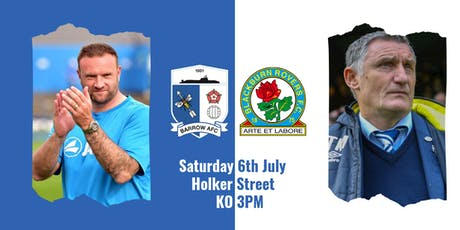 Barrow v Blackburn Rovers - AWAY Supporters tickets
