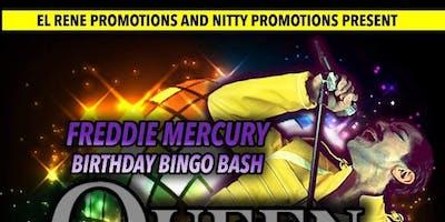 Freddie  Mercury Birthday Bingo Bash