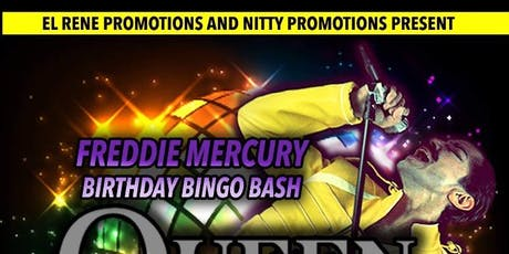Freddie  Mercury Birthday Bingo Bash tickets