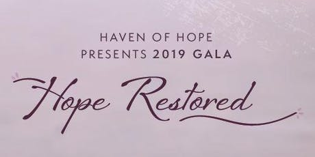2019 Hope Gala - Hope Restored tickets