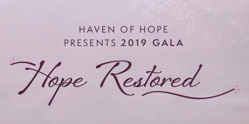 2019 Hope Gala - Hope Restored