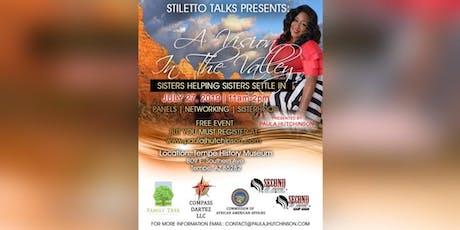 Stiletto Talks...Vision in the Valley tickets