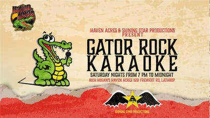 Gator Rock Karaoke tickets