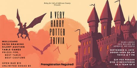 A Very Harry Potter Trivia tickets