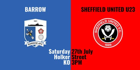 Barrow v Sheffield United U23 tickets