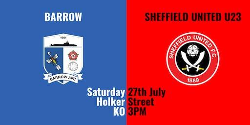 Barrow v Sheffield United U23