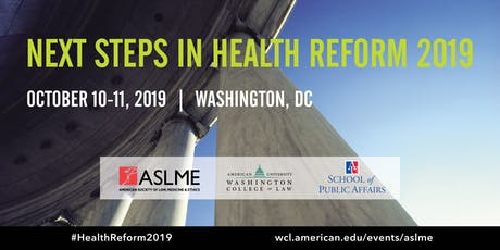 Next Steps in Health Reform 2019 tickets