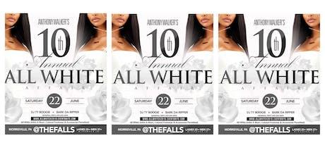 The 10th Annual All White Affair tickets