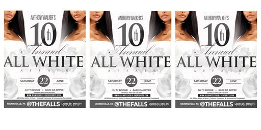 The 10th Annual All White Affair