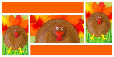 Thanksgiving Craft Party (18 Months-6 Years)