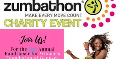 2nd Annual Zumbathon for Women's Foundation of Genesee Valley